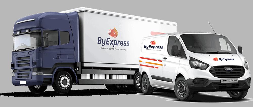 furgoneta y camión de ByExpress